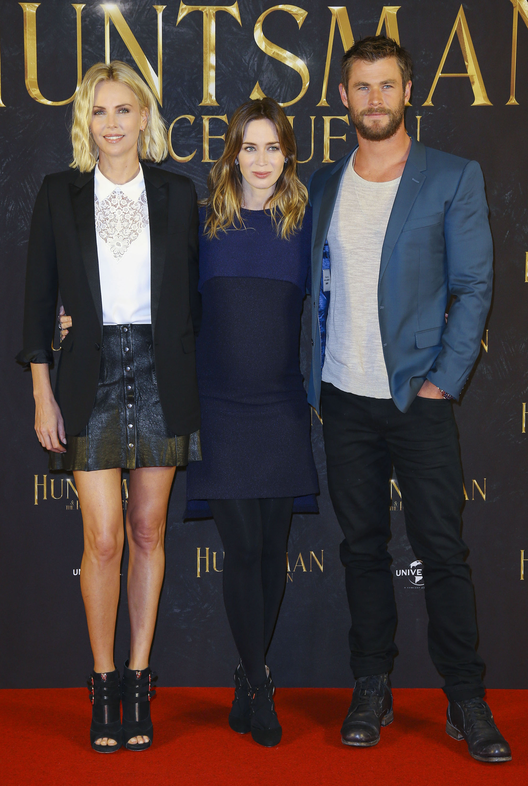 The -Huntsman- The- Ice -Queen- Photo- Call