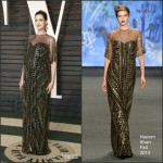 Anne Hathaway in Naeem Khan – 2016 Vanity Fair Oscar Party