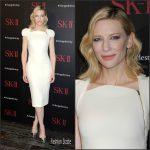 Cate Blanchett in Antonio  Berardi    – SK-II ChangeDestiny Forum
