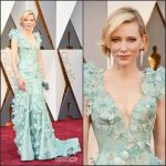 Cate Blanchett in Armani Prive –  2016 Academy Awards