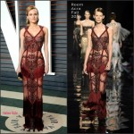 Diane Kruger in Reem Acra – 2016 Vanity Fair Oscar Party