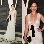 Emilia Clarke in Miu Miu – 2016 Vanity Fair Oscar Party