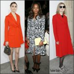 Emmy Rossum, Naomie Harris & Rosamund Pike in Christian Dior -Dior Fall/Winter 2016 Paris Fashion Week Show
