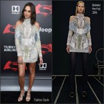 "Gal Gadot In Balmain – ""Batman V Superman: Dawn Of Justice"" New York Premiere"