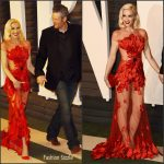 Gwen Stefani & Blake Shelton –  2016 Vanity Fair Oscar Party