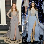 Jessica Biel in Zuhair Murad Couture –  2016 Vanity Fair Oscar Party