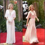 Kate Hudson in J. Mendel  –  Kung Fu Panda 3 London Premiere
