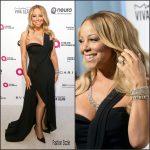 Mariah Carey in Brandon Maxwell  – 2016 Elton John AIDS Foundation Academy Awards Viewing Party
