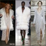 Mariah Carey in Sorapol & Temperley London Leaving the Corinthia Hotel