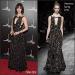 Mary Elizabeth Winstead in Valentino – '10 Cloverfield Lane' New York Premiere