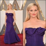 Reese Witherspoon  In  Oscar de la Renta – 2016 Academy Awards