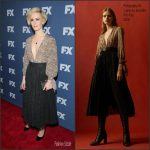 Sarah Paulson in Philosophy di Lorenzo Serafini at 'The People v. O.J. Simpson: American Crime Story' NYC Premiere