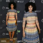 Tracee Ellis Ross in Naeem Khan – PaleyFest LA Presents Black-ish Panel