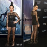 Zoe Kravitz  in  Valentino'The Divergent Series – Allegiant' New York Premiere