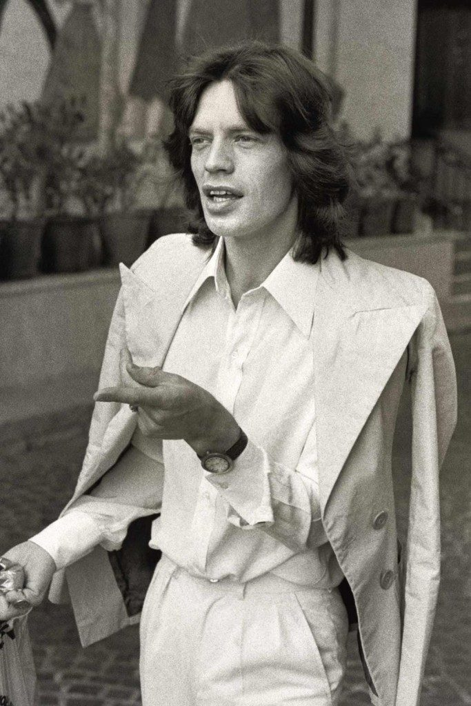 Mick Jagger Iconic Style