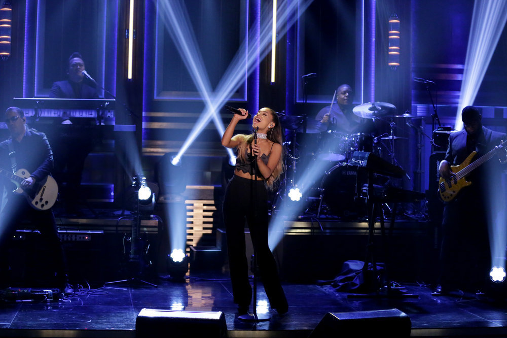ariana-grande-The- Tonight- Show -Starring J-immy -Fallon - Season 3