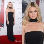 Alice Eve in Michael Kors at the 'Criminal' New York Premiere