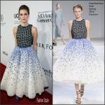 Allison Williams in Giambattista Valli Couture at The Parker Institute For Cancer Immunotherapy Gala