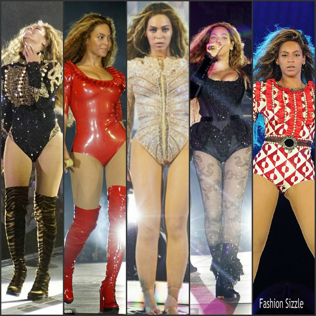 Beyonce 39 Formation 39 World Tour Costumes Fashionsizzle