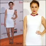Camilla Luddington in Alexander McQueen  – 23rd Annual Race To Erase MS Gala