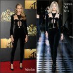 Cara Delevingne in Balmain – 2016 MTV Movie Awards in Burbank, CA