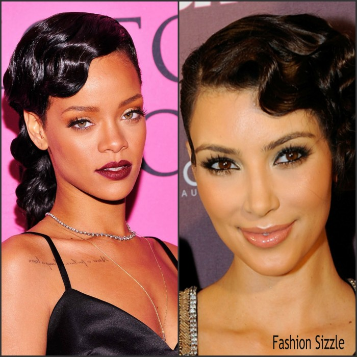 A finger wave is a method of setting hair into waves (curls) that was popular in the 1920s and 1930s and in the late 1990s in North America and Europe.