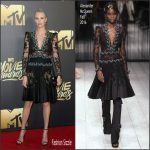 Charlize Theron In  Alexander McQueen  – 2016 MTV Movie Awards in Burbank, CA