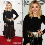 Chloe Moretz in Proenza Schouler at 'The First Monday in May' 2016 Tribeca Film Festival Premiere