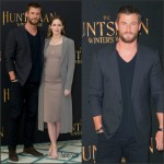 Chris Hemsworth & Emily Blunt at 'The Huntsman: Winter's War London Photocall