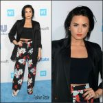 Demi Lovato in A.L.C., Zimmermann & Etro at WE Day California