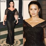 Demi Lovato In Dolce & Gabbana – 2016 Vanity Fair Oscar Party