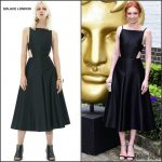 Eleanor Tomlinson in Solace London at the 2016 BAFTA Craft Awards