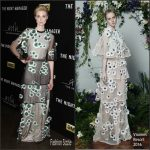Elizabeth Debicki in Vionnet at 'The Night Manager' LA Premiere