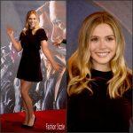 Elizabeth Olsen  In Valentino – 'Captain America: Civil War'  London Photocall