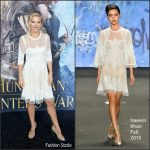 Elsa Pataky  In Naeem Khan – The Huntsman Winters War LA Premiere