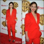 Emilia Clarke  In Stella McCartney  – 'The Big Picture' presentation at CinemaCon 2016