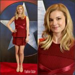 Emily VanCamp attends  'Captain America: Civil War'  London Photocall
