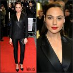 Gal Gadot In  Victoria Beckham – 'Criminal'  London Premiere