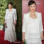 Ginnfer Goodwin in Rebecca Minkoff & A Pea in the Pod – John Varvatos Stuart House Benefit