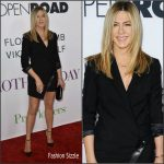 Jennifer Aniston in Giorgio Armani at the Mother's Day LA Premiere