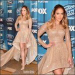 Jennifer Lopez  In Elie Madi – American Idol Finale For The Farewell Season in Hollywood