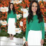 Jordana Brewster in LK Bennett & Aritzia at the Zyrtec Event