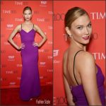 Karlie Kloss  In Victoria Beckham –  2016 Time 100 Gala