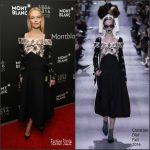 Kate Bosworth in Christian Dior at the Montblanc 110 Year Anniversary Gala Dinner