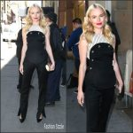 Kate Bosworth  in Monse at the Crackle Upfront in New York City