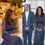 Kate  Middleton in  L.K. Bennett  – Dinner  with Obamas