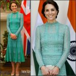 Kate Middleton  In Temperley London – Lunch with Indian Prime Minister