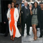 Kelly Rowland visits 'Good Morning America' in New York