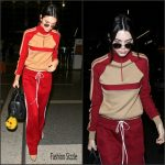 Kendall Jenner In Chloe – Airport in Paris