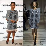 Kerry Washington In Carolina Herrera –  Today Show  in New York